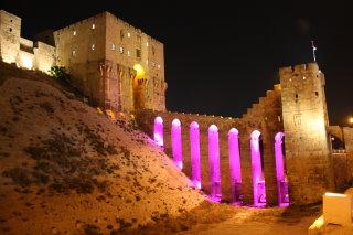 Citadelle in Alepo Syrien