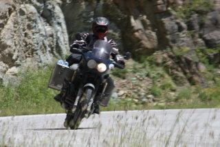 Albanische Bergstrassen