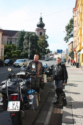 Kalle und Eik auf dem Weg nach Rumänien