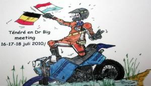 Tenere & DR Big Treffen 2010 in Belgien