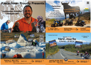 Flyer Paetschman Proudly Presents 1. Halbjahr 2017