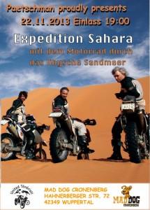 Sahara mit den 2radkamelen