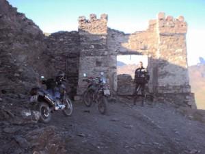 Fort auf dem Mt. Jafferau