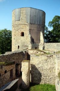 Mittelalterliche Burg Cesis