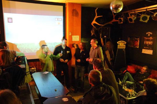 Das aufSPUR Team im Mad Dog bei Paetschman Proudly Presents 08.01.2016
