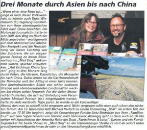 Copyright Cronenberger Woche / Oliver Grundhoff