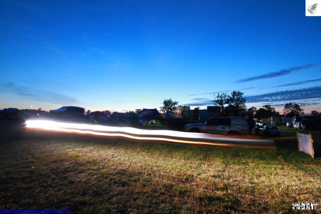 Nacht zum Tage durch Licht-Superlativen